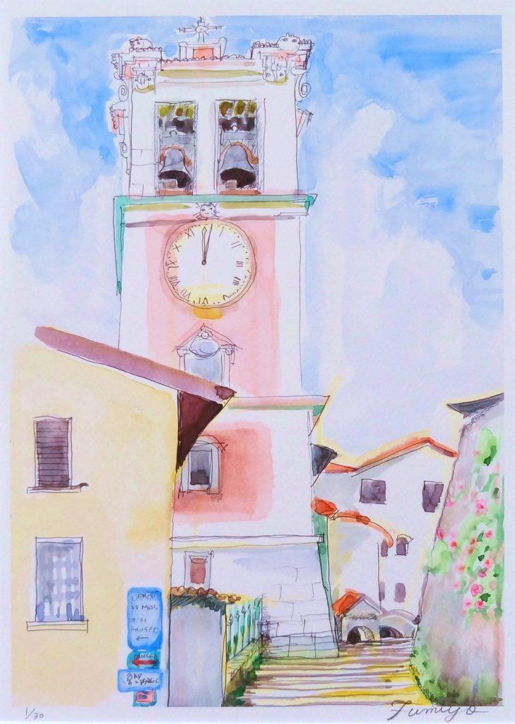 サクラモンテの時計台