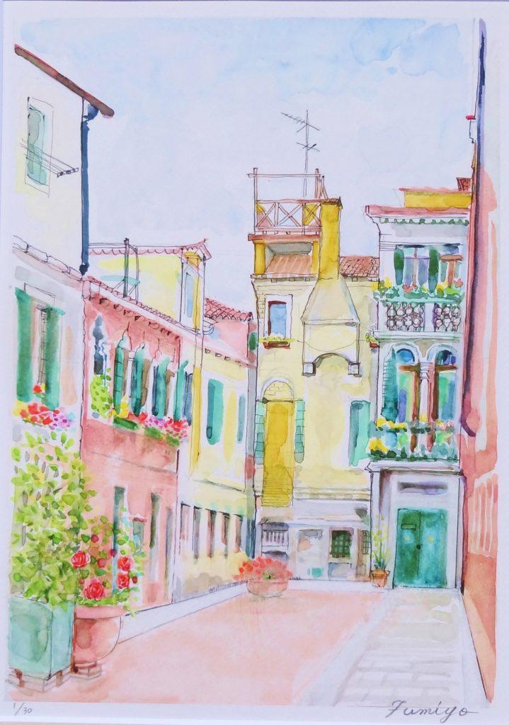 ヴェネチィアの街